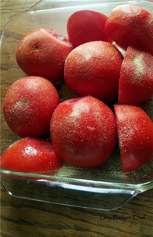 easy oven roasted tomato recipe