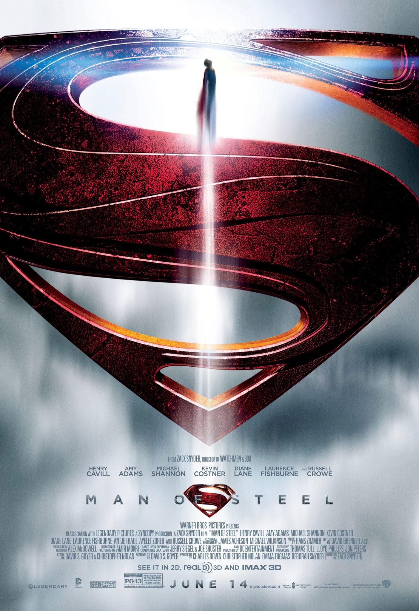człowiek ze stali superman film recenzja DC zack snyder