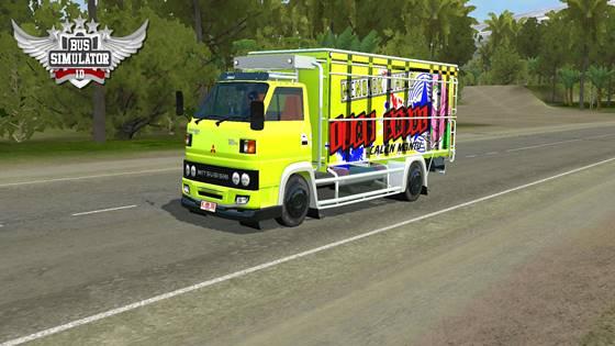 mod bussid truck umplung muatan pasir