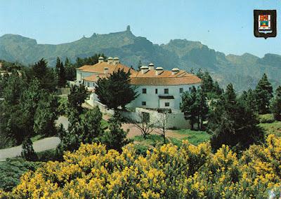 postal, Tejeda, parador, Gran Canaria