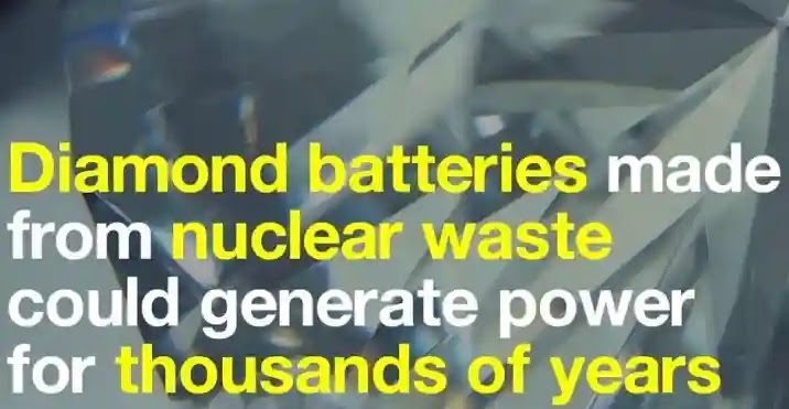 In 2 years, a 28,000 year Radioactive Diamond Battery would be on the market