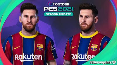 PES 2021 Faces Lionel Messi