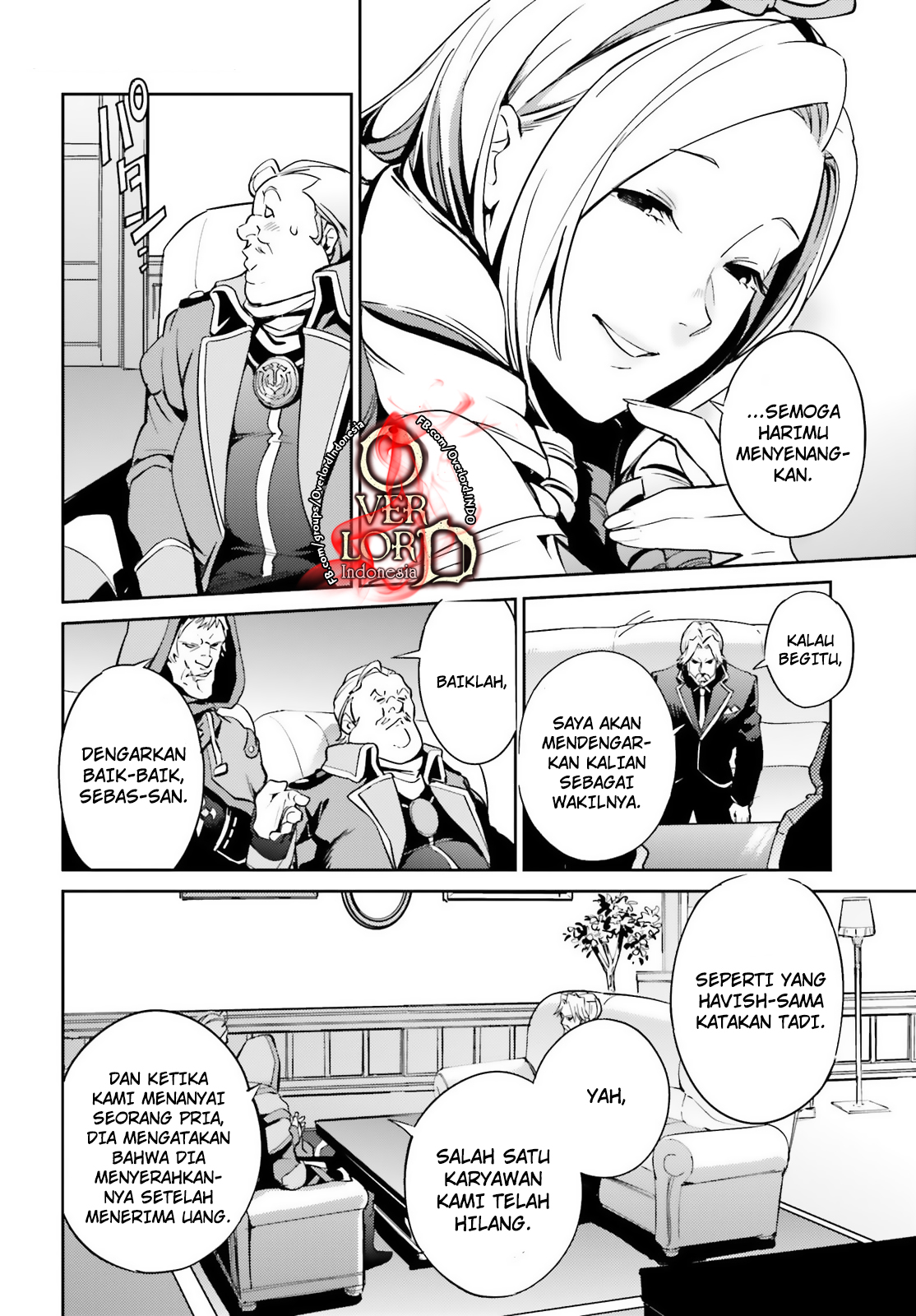 Overlord chapter 34 Bahasa Indonesia