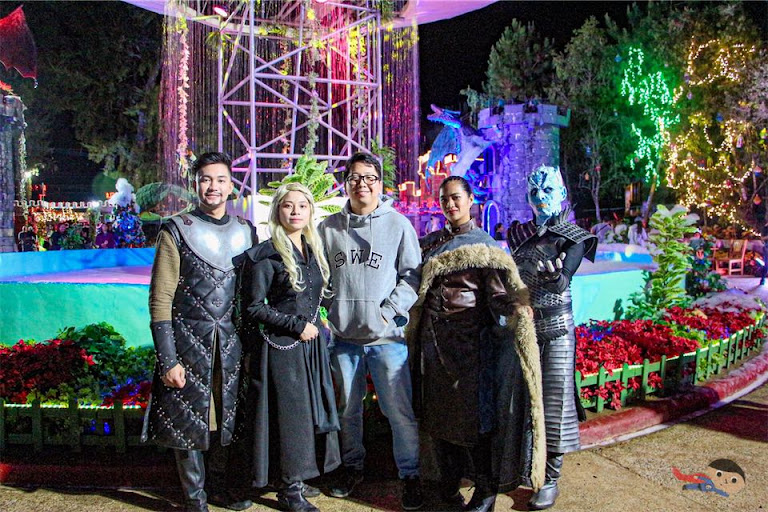 Game of Thrones Characters in Christmas Village, Baguio Country Club
