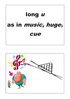 Long Vowels Flashcards