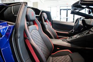 Preview Lamborghini Aventador SVJ 2019: Seats