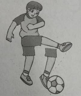 Menendang Bola dengan Punggung (Kura-Kura) Kaki