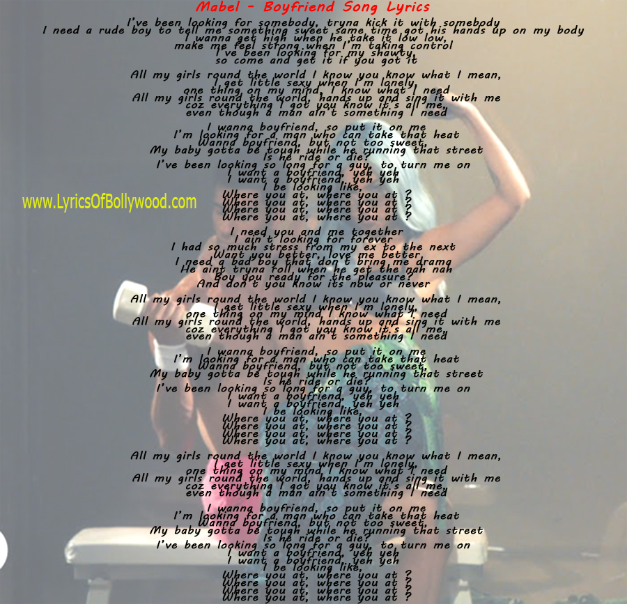 A you boyfriend song have 29 BEST