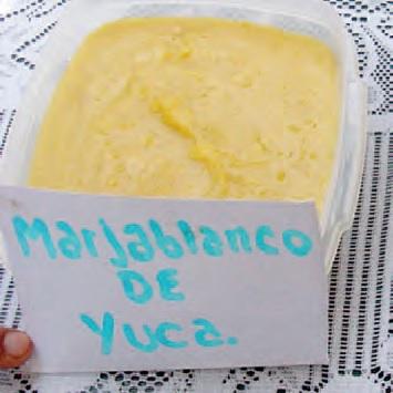 Manjar Blanco de Yuca