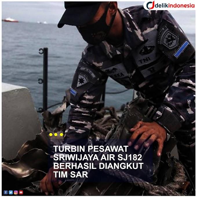 Tim Sar TNI Berhasil Angkut Turbin Pesawat Sriwijaya Air SJ182