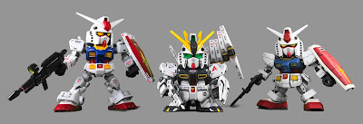 SD Gundam Amuro Ray Mobile Suits
