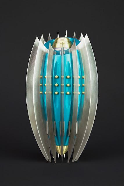 Machined Flower Vase