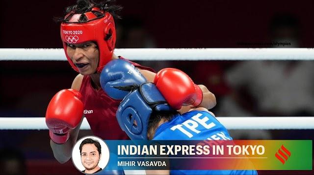 टोक्यो 2020 ओलंपिक: लवलीना बोर्गोहेन ने सूमो कुश्ती के घर में बॉक्सिंग इतिहास का पीछा किया
