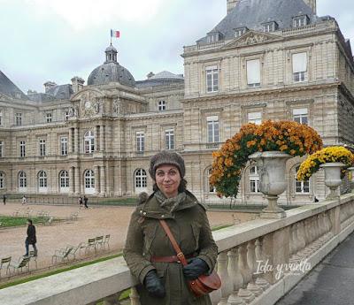 Paris Rive Gauche Jardines Luxemburgo