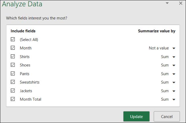 مجالات البيانات