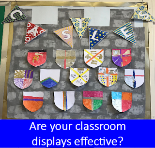 classroom displays fit for purpose effective use of space