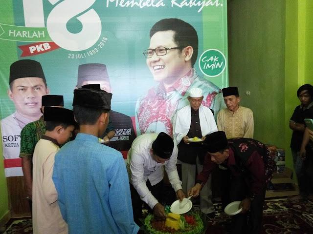 Harlah PKB, Ini yang Dilakukan DPW PKB Provinsi Jambi