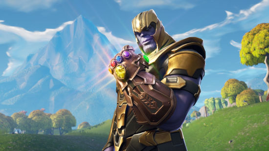 Fortnite Battle Royale - Thanos - Full HD 1080p