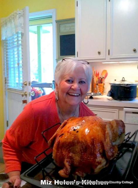 Roasted Turkey at Miz Helen's Country Cottage