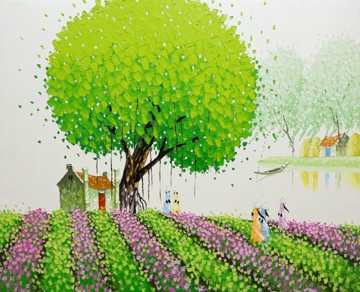 Современные вьетнамские художники. Phan Thu Trang 5