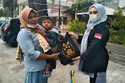 Kabareskrim Polri Bagikan Sembako ke Ratusan PKL di Medan