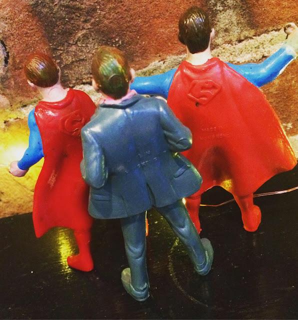 Chemtoy Superman figures