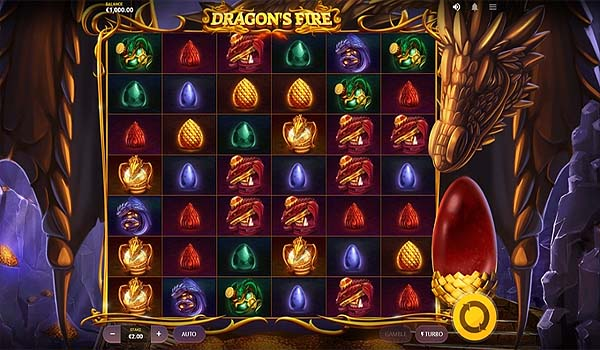 Main Gratis Slot Indonesia - Dragon's Fire Megaways (Red Tiger Gaming)