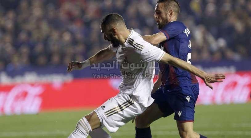 ريال مدريد يسقط امام ليفانتي ويخسر صدارة الدوري الاسباني لصالح برشلونة