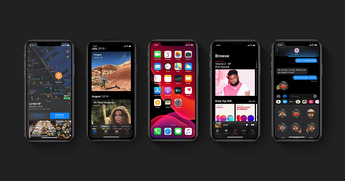 iOS 13 e watchOS 6 disponibili per tutti
