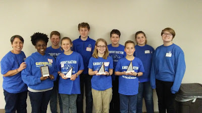 Montgomery Catholic Middle School Top 3 at MathCounts 1