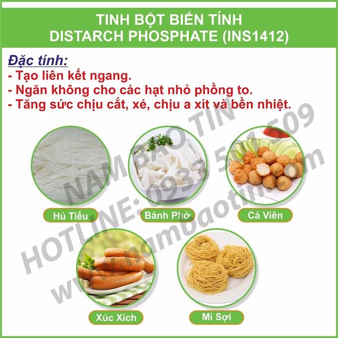 Tinh Bột Biến Tính Distarch Phosphated INS1412