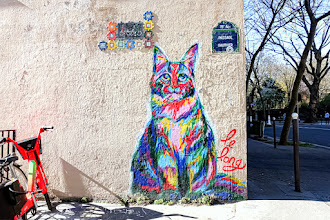 Sunday Street Art : Le Long - avenue Simon Bolivar - Paris 19