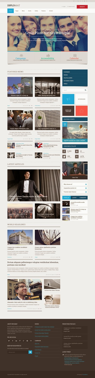 Responsive Niche WordPress Theme 2015