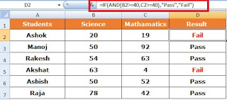 How to use IF formula with AND in Excel in Hindi