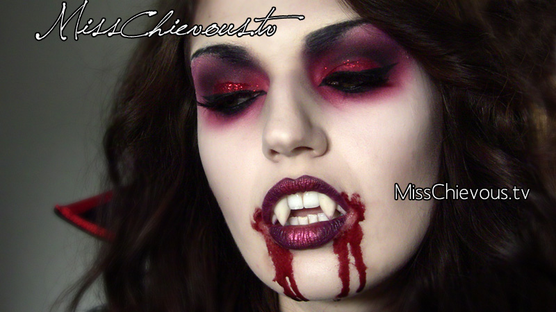 Vampire Halloween Makeup Tutorial 2015  Makeup By Leyla