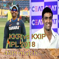 IPL 2018 KXIP vs KKR Live Cricket Score