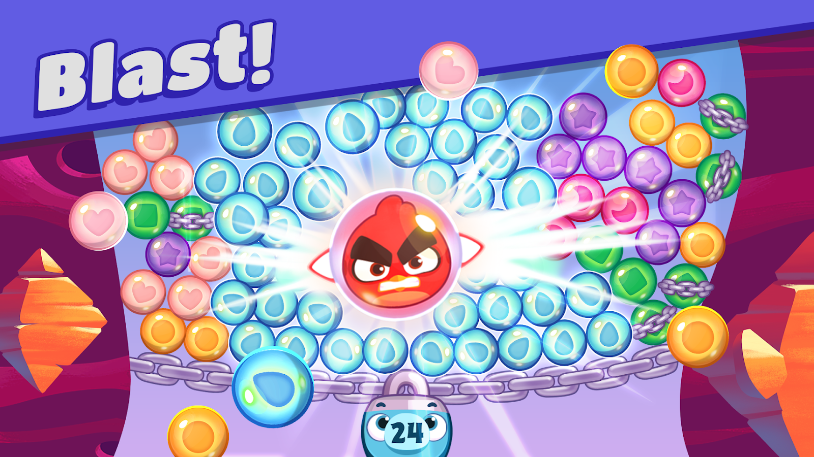 Angry Birds Dream Blast Mod Unlimited Coins