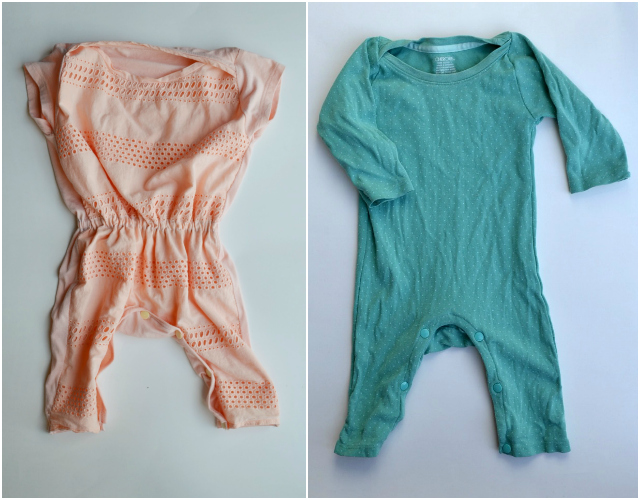 6dd538c33f25 Upcycled  T-Shirt Romper • Heather Handmade