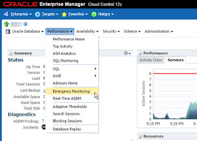 Emergency Monitoring in Oracle Enterprise Manager Cloud Control 12c