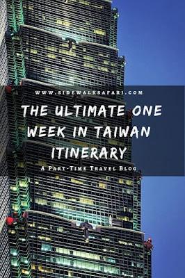 The ultimate one week in Taiwan Itinerary: Taipei 101