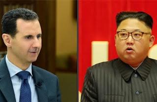 Berterimakasih kepada Negara Komunis Korut, Bashar Assad Kirim Surat ke Kim Jong-un