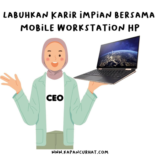 mobile work station HP