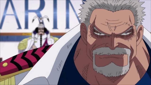 MONKEY D. GARP | Top 10 Strongest Characters Of  One Piece