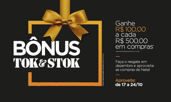 Tok Stok realiza Campanha Bônus 49ee539487