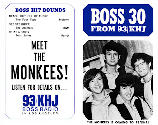 KHJ Boss 30 No. 60 - The Monkees