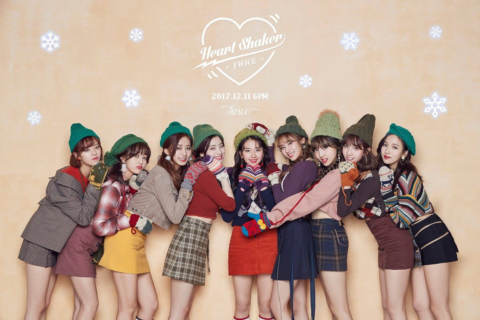 Wallpaper Twice Special Heart Shaker And Christmas 2000 X