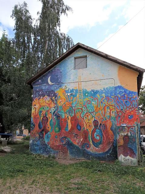 murale a uzupis