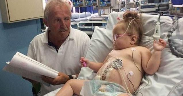 Дедушка пожертвовал почку своей внучке: из-за тяжелой болезни девочка могла не дожить даже до 5 лет, но сейчас с ней все хорошо