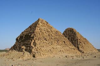 Five pyramid locations where Sudan pyramids mostly located Meroë Pyramids, El-Kurru Pyramids, Nuri Pyramids, Jebel Barkal Pyramids and Sedeinga Pyramids