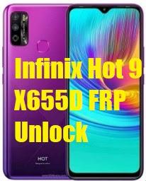 Infinix Hot 9 X655D FRP Unlock